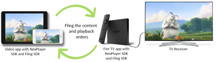 Amazon Fling SDK