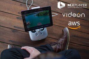 NexPlayer, Videon & AWS